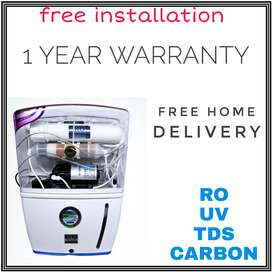 NEW RO WATER PURIFIER 1 YEAR FULLY AUTOMATIC TV AC COOLER 6UUYI9P bhk