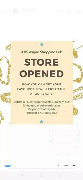 Shop open lakhe nagar dhal ekta campus, ( all are new condition )