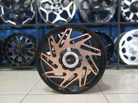 Jual Velg HSR Type Malinau Ring 20 Black Bronze Bisa Kredit