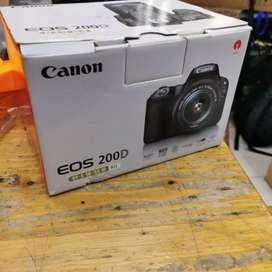 Sale kamera dslr Canon eos 200D