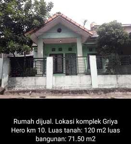Dijual rumah segera 123