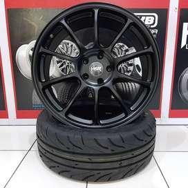 Velg Racing JDM ZE40 Ring 19 Buat Sienta FT86 Altis Wish
