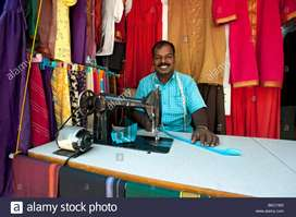 Tailor with good experience and skills required