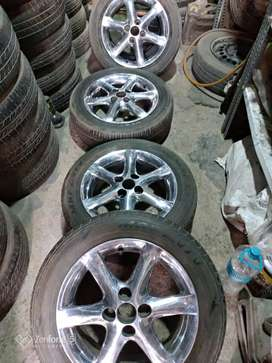 Genuine Alloy wheel of TOYOTA 15 SUITABLE IN ETIOS SWIFT I20 LANCER