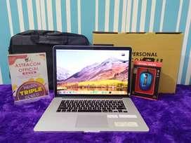 Macbook Pro Retina Mid 2012 Core i7 RAM 8GB HDD 500GB