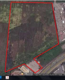 Raya Bypass Krian - Tanah Komersial Cocok untuk Pabrik Pergudangan