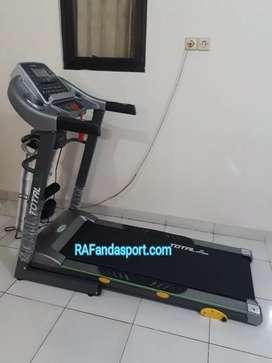 TL-288 Treadmill Elektrik 3 Fungsi Merk Total Fitness