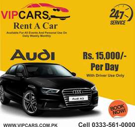 Beautiful Cars available on rent for all Events