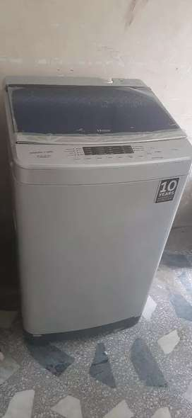 New washing machine . Used just 1 time