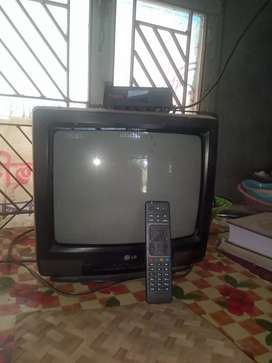 """L G TV 14"""" and Airtel D T H"""