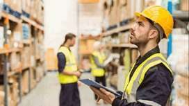 Team of Logistics and Warehouse Candidates Hiring