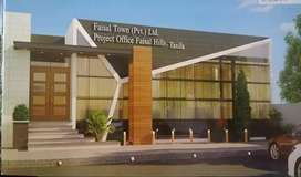 25x50 prime location plot for sale in B-Block Faisal Hills Taxila..
