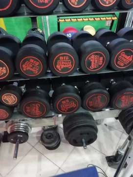 All Types of gym and fitness equipments are available