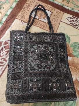 Black Ethnic bag For Women