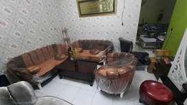 Sofa shabby keong coklat garansi 1 tahun