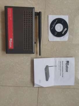 'iBall Baton' modem/router + wifi