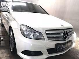 C 200 Facelift 2012 Putih THN 2012 FullbOriginal TDP hanya 20jt
