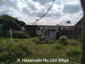 Gudang Dijual Di Jl. Hasanudin, Salatiga