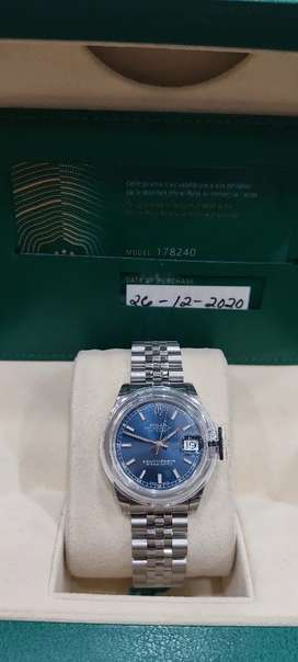 Brand new ladies Rolex datejust 31mm 2020 set avail in Watch Clinic