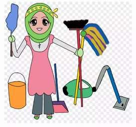 Dicari assisten/pembantu rumah tangga