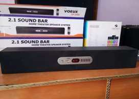New 2.1 Sounds Bar Home Theater Speaker Music System