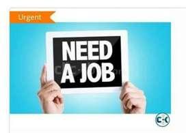 I need a job urgently