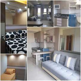 Ready Apartemen Puncak Kertajaya 2br New Gress for sale