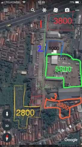 Sewa Tanah Jl.Raya Gilang -Taman .Sidoarjo strategis Hadap Jalan Raya
