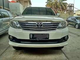 Toyota Fortuner G AT diesel 2012 #dp murah