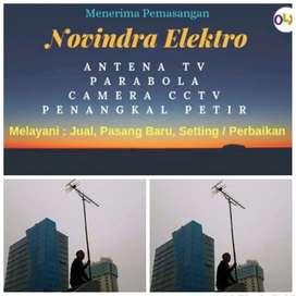 Pusat jual pasang baru antena tv murah lokasi Jatiasih
