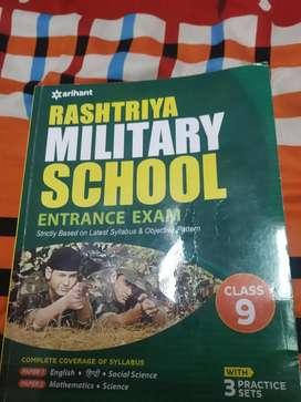 Rashtriya Military School 2021 book.