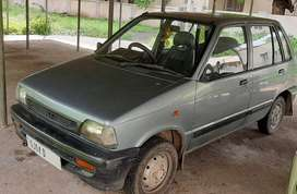 Maruti Suzuki 800 2001 Petrol Well Maintained