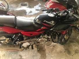 BAJAJ PULSAR (220 cc) , Red black