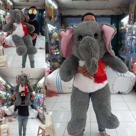 Boneka gajah munki trunk jumbo raksasa super big size SNI 3D grosir