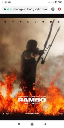 Film Bluray Avenger Endgame, Johnwick 3, Rambo last blood