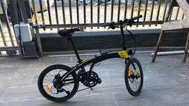 Jual cepat sepeda lipat Ecozmo z9