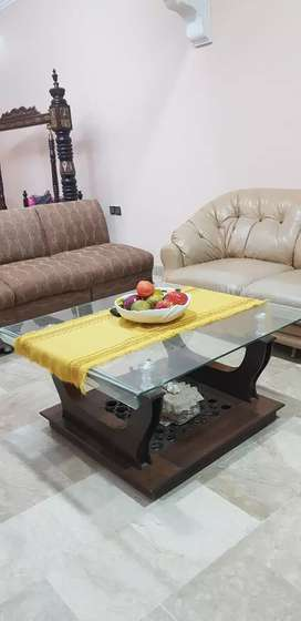 Centre table tempered glass top