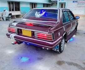 Red Nissan Sunny good condition 1985