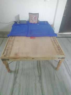 6X4 Wooden New Bed Price 2100 rs only