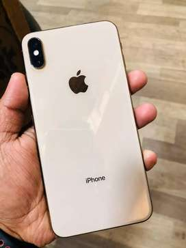 iPhone XS MAX 64 GB GOLD BILL BOX CHARGER GENUINE ALL CLEAR PERFECT