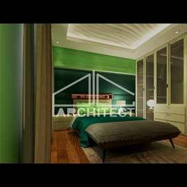 Desain Arsitektur 2D&3D dan RAB