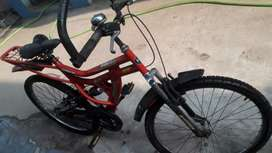 Hercules bicycle at good condition.