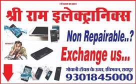 We exchange dead mobile and accessories