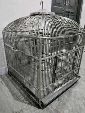 Birds Steel cage