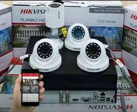 PASANG 4 KAMERA CCTV, FREE 1 KAMERA CCTV