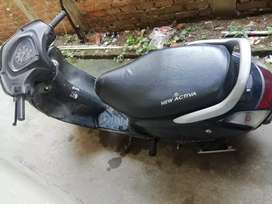 Activa black colour
