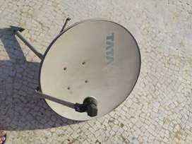 Tata Sky Dish With Set Top box with remote