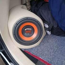 Paketan audio mobil lengkap plus boks pojok_ salon mobil OK
