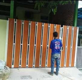 Kami bengkel las nerimah pemasangan pagar grc @@6055