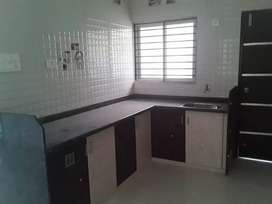 2 Bhk semi furnished nonused new flat for sell near Eva mall